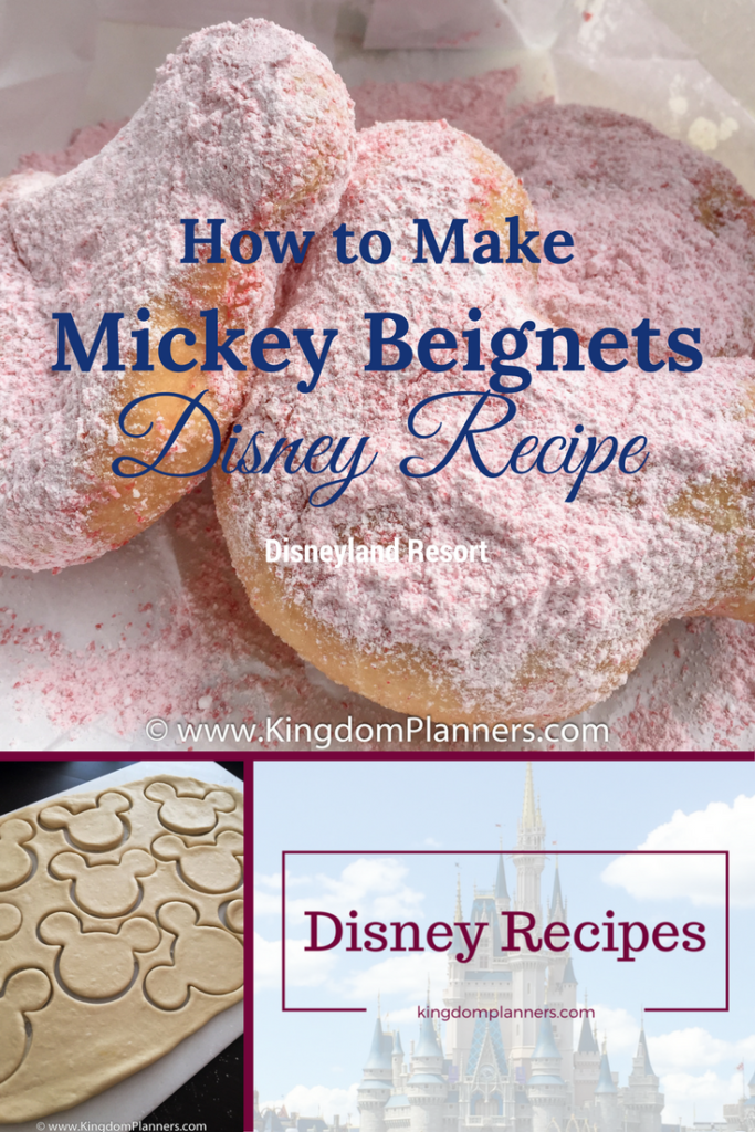Disneyland Mickey Mouse Beignets